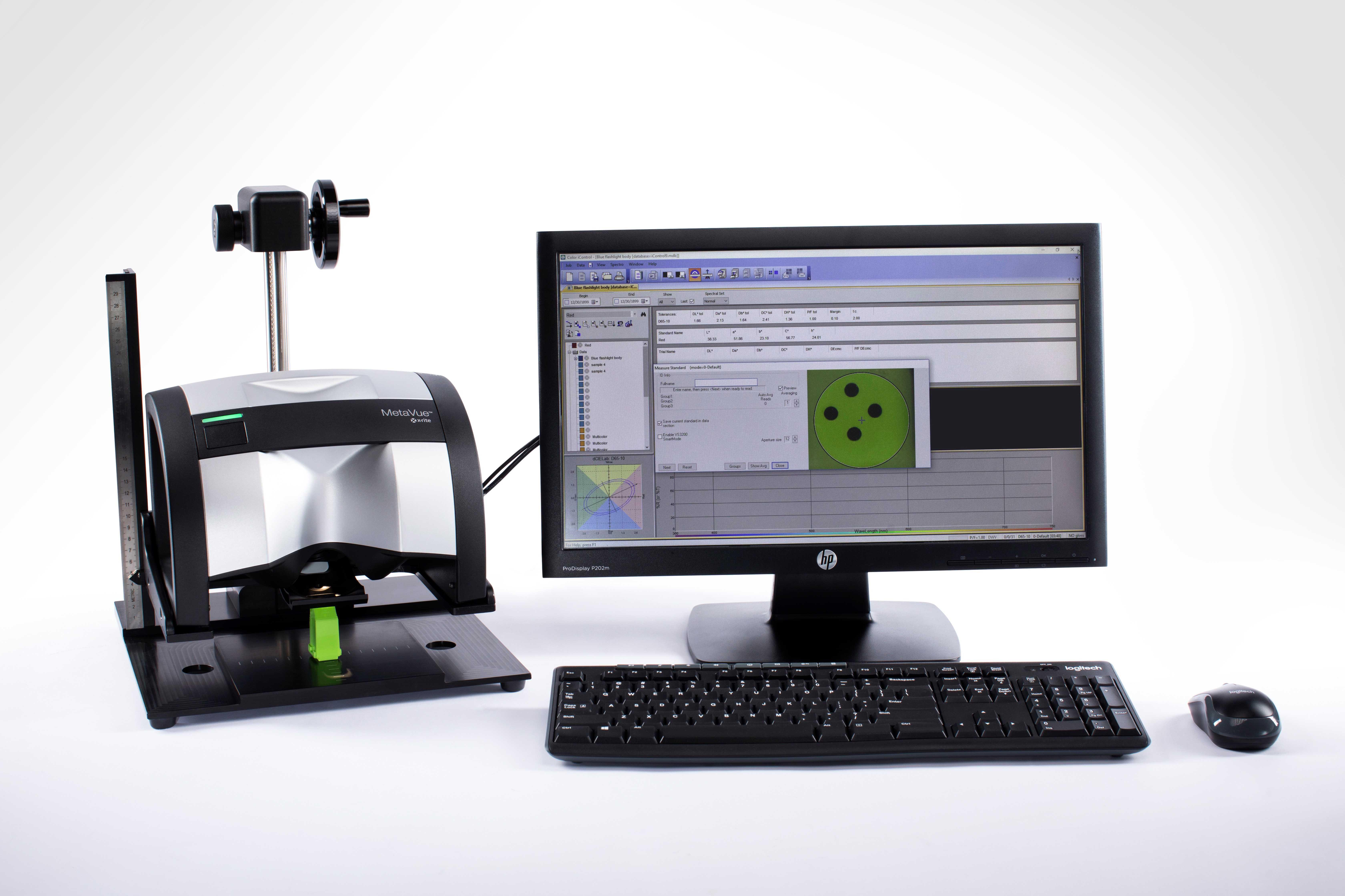 Новый бесконтактный спектрофотометр X-Rite - MetaVue VS3200!